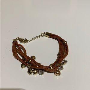 H&M Woven Beaded Bracelet